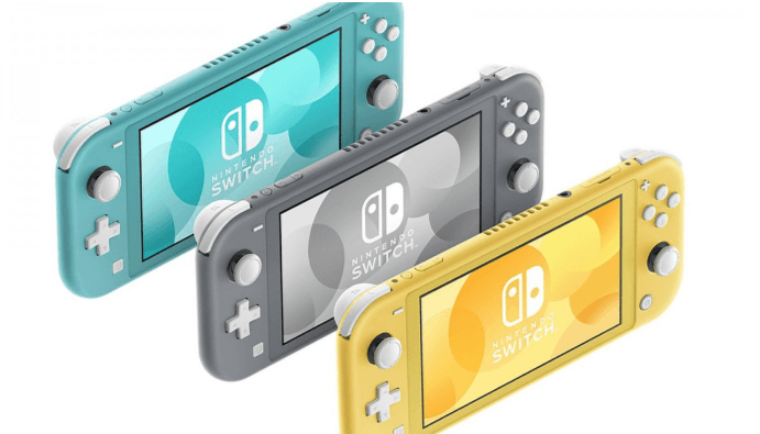 Nintendo Switch Lite in Stock Alerts